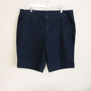 CJ Banks Plus Size Signature Comfort Jean Shorts